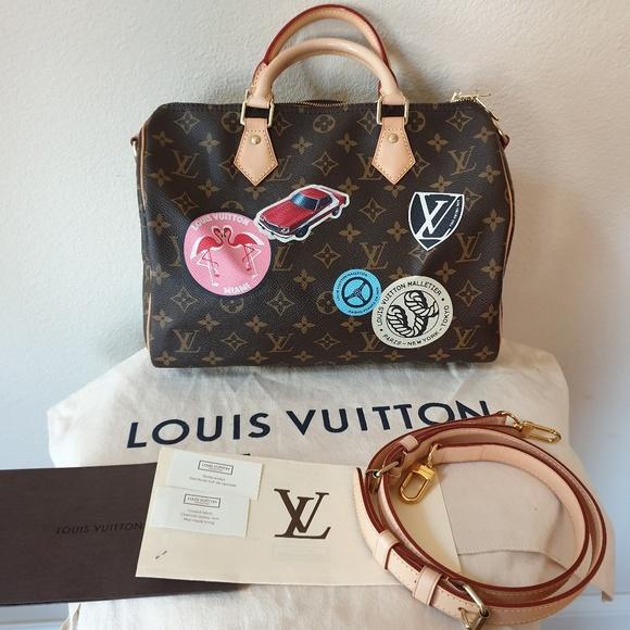 Louis Vuitton Bags 2016 Monogram World Tour Speedy Ban Poshmark